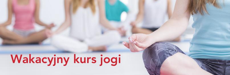 Wakacyjny kurs jogi w ASGO!